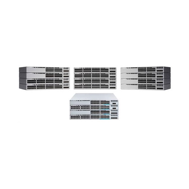 Cisco Original New C9200L-24P-4G-A Catalyst 9200L 24-port PoE+ 4 X 1G Network Advantage with 3 Years DNA