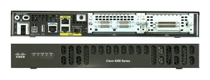 New Original ISR4000 Series Integrated Services Router 2GE 2NIM 8G FLASH 4G DRAM IPB ISR4221/K9